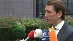 Министр иностранных дел Австрии