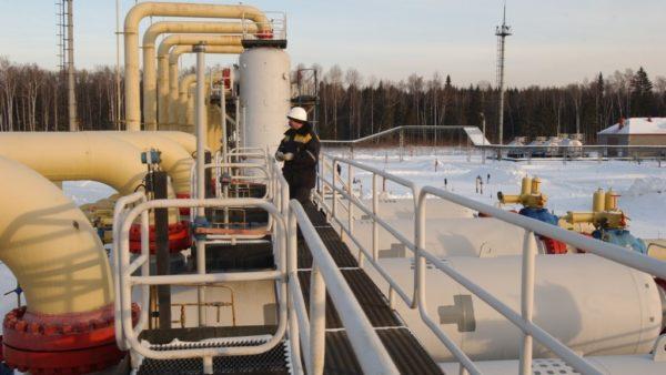 потребление газа на Украине