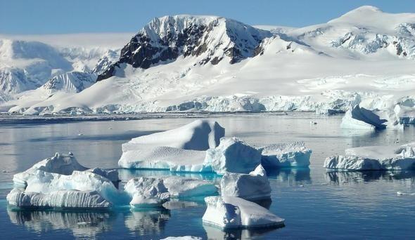 тайна пирамид в Антарктиде