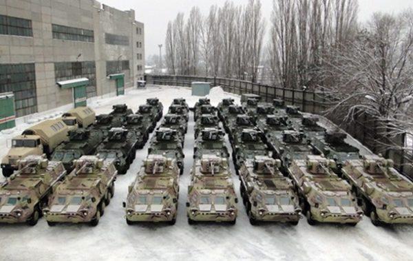 Экспорт военной техники в 2016 году