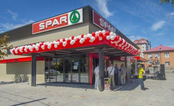 сеть супермаркетов Spar
