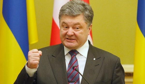 Порошенко желает отмены санкций