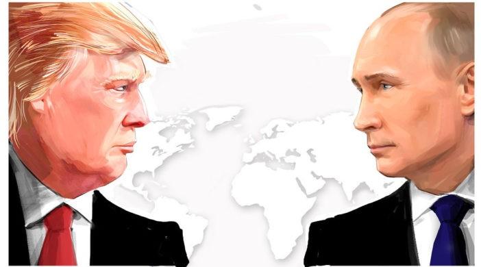 Противостояние Путина и Трампа