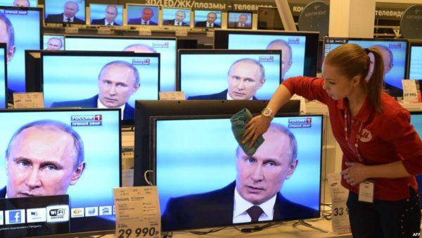 Россияне не верят телевидению