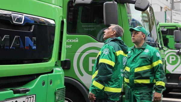 нарушения в работе парковочных служб Москвы