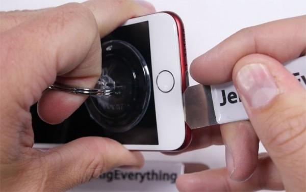 поставить рамку на iPhone 7