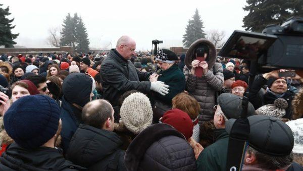уличные встречи депутатов с избирателями