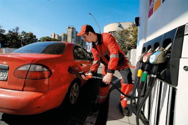 резко упали продажи бензина