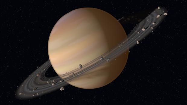 В кольцах Сатурна