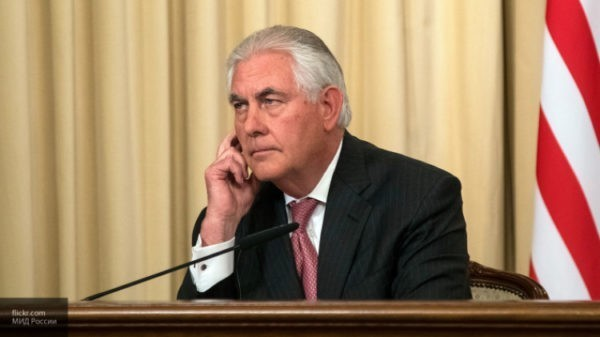 Переговоры госсекретаря США Рекса Тиллерсона