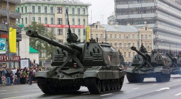 маршрут прохождения военной техники