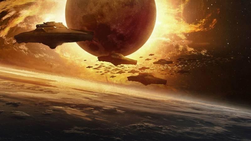 корабль инопланетян