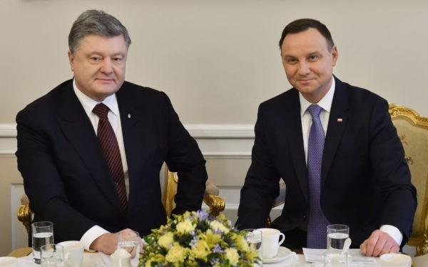 Президенты Украины и Польши
