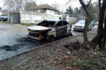 Авария в Киеве: элитный Mercedes улетел в кювет