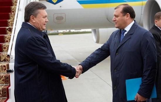 визит Януковича в Харьков