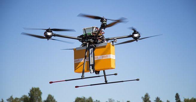 проект по доставке посылок дронами
