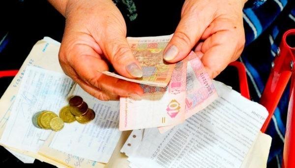 размер субсидий украинцев в марте