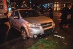 ДТП в Киеве: у такси отказали тормоза