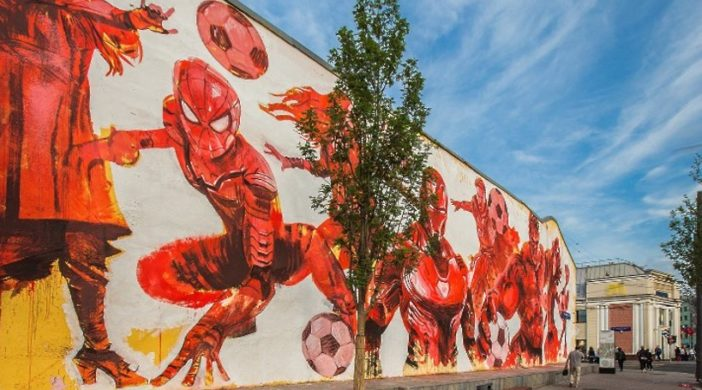 граффити на стенах домов будут удалять по суду