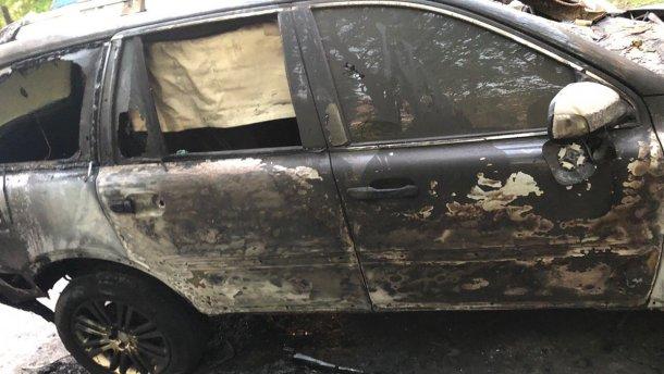 поджог машины журналиста в Днепре