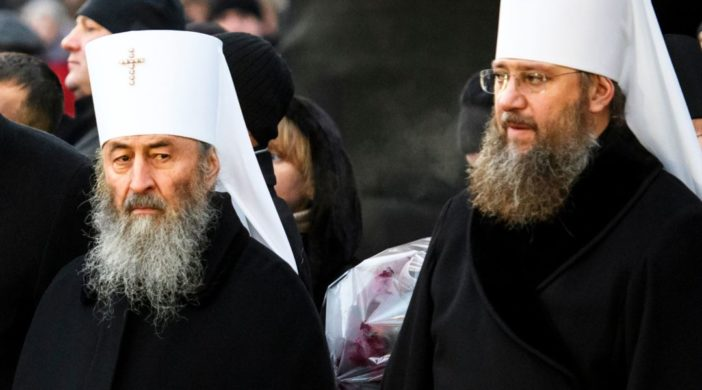 встреча Владимира Зеленского и Блаженнейшего митрополита Онуфрия