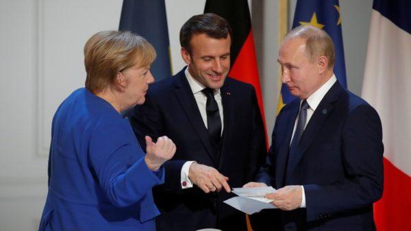 Канцлер Германии Ангела Меркель оценила переговорный процесс